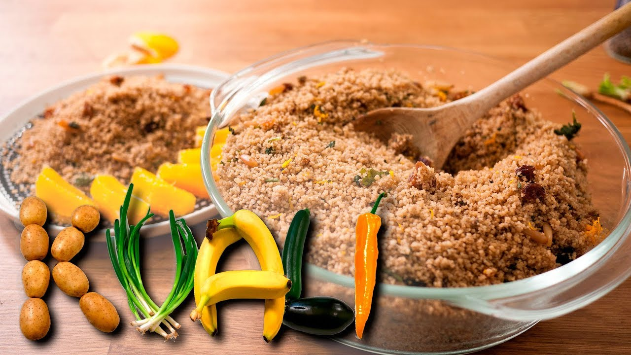 how to make couscous youtube