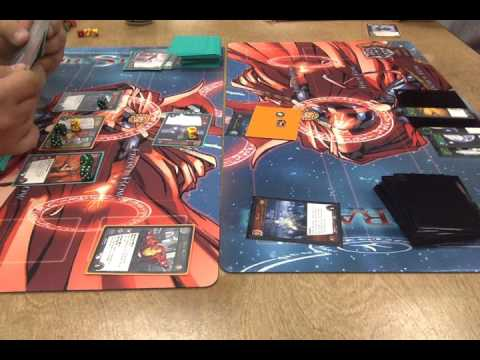 Iron Man vs Warrant Officer Ripley Finals at Tabletop Games on 9 1 16