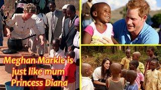 Prince Harry's new 'girlfriend' Meghan Markle is just like mum Princess Diana