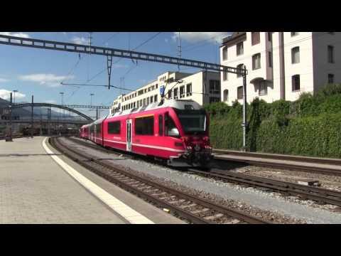 Chur Station SBB RhB 08 09 2016