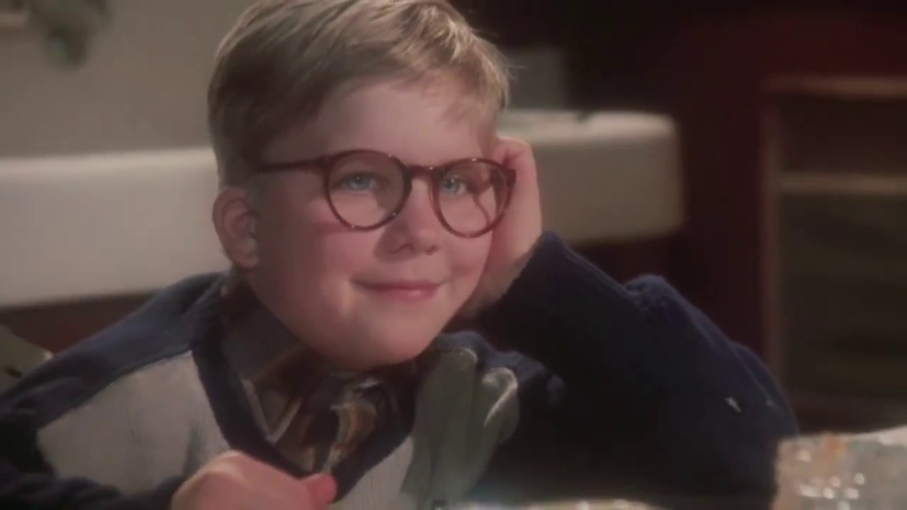 Ralphie Christmas Story.Ralphie Takes On The Walking Dead In A Christmas Story