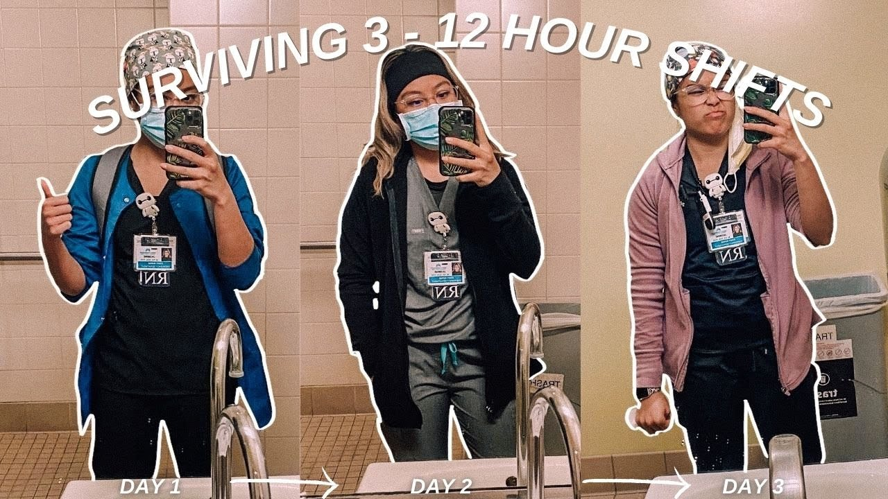 Download SURVIVING 12 hour shifts   day in the life of an RN, BSN
