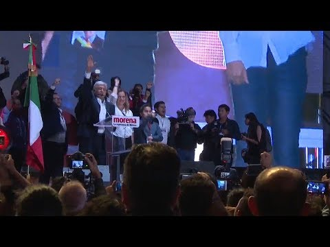 Andres Manuel Lopez Obrador's victory signals start of new political era