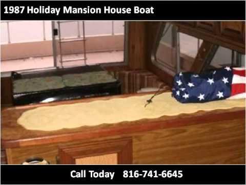1987 Holiday Mansion House Boat Used Cars Kansas City MO