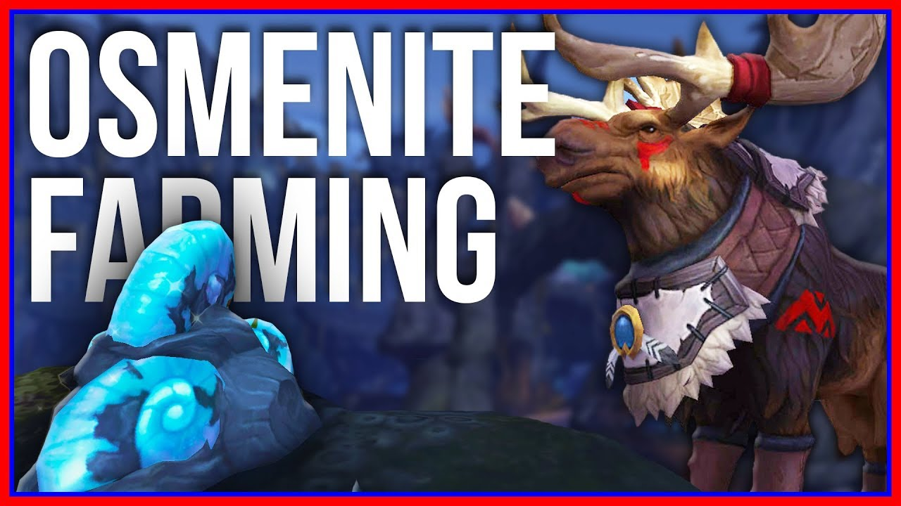 Which Osmenite Farming Route is Best? | Patch 8 2 Mining