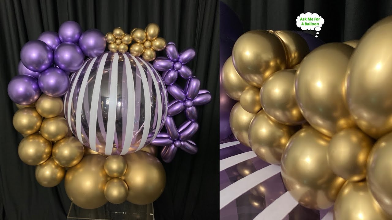 Bubble Balloon Decoration