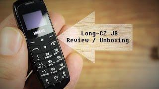 Long CZ J8 - Kleinstes Telefon der Welt ? Unboxing & Review - Deutsch