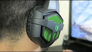 How Well Does A $23 GAMING HEADSET Perform? (SADES SA-807 Review)