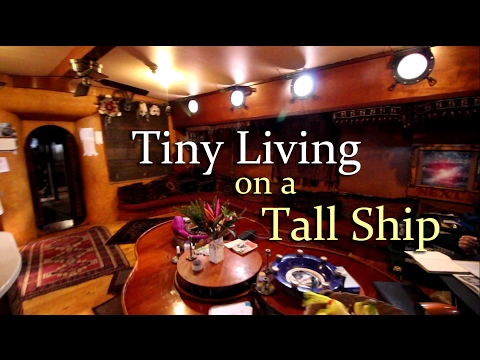 Tiny Living on a Tall Ship: The Amara Zee