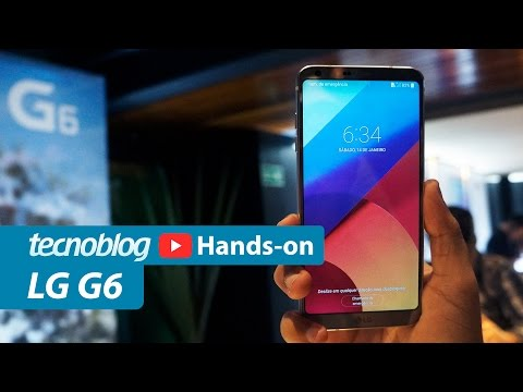 LG G6 - Hands-on Tecnoblog
