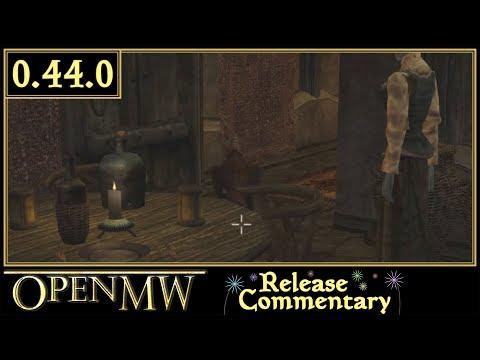 OpenMW 0 44 0 Released! | OpenMW, Open source Elderscrolls