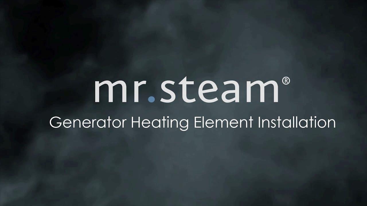 Steam Generator Heating Element Installation Youtube