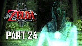 The Legend of Zelda Twilight Princess HD Walkthrough Part 24 - Arbiter's Ground (Hero Mode)