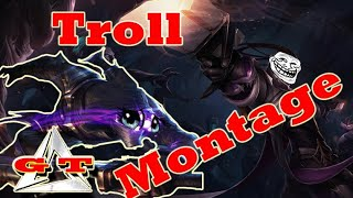 League of Legend  - Game of troll 9th Ranking games