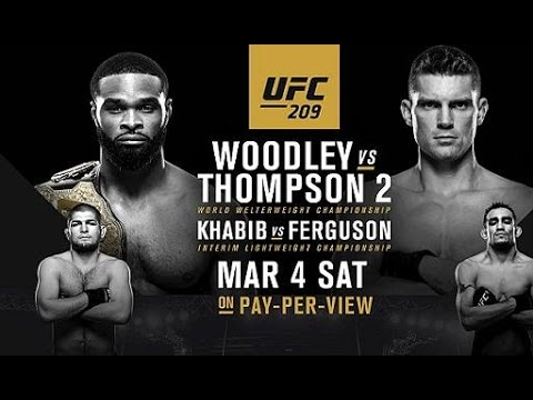 UFC 209 Woodley v Thompson 2 Fight Predictions