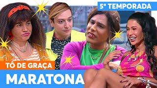 MARATONE a TERCEIRA SEMANA de TÔ DE GRAÇA! | Tô De Graça | Humor Multishow