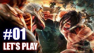 ATTACK ON TITAN 2 [PS4] - NOUVEAU LET