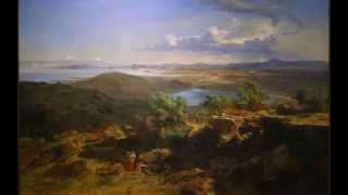 José María Velasco, The Valley of Mexico from the Santa Isabel Mountain Range, 1875