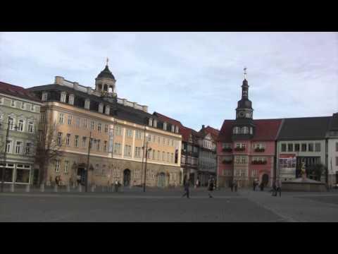 Wartburg and Eisenach, Thuringia, Germany - 8th November, 2015