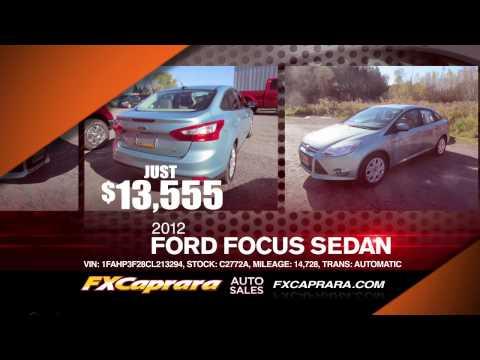 "FX Caprara Auto Sales -- ""Black Friday Event"" (11/2013)"