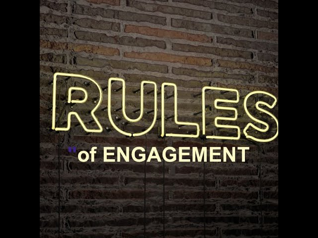 Rules of Engagement in Disruptive Times