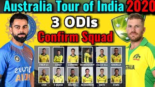 Australia tour of India, 2020: Australia v India ODI Series Australia Squad | India vs Australia ODI