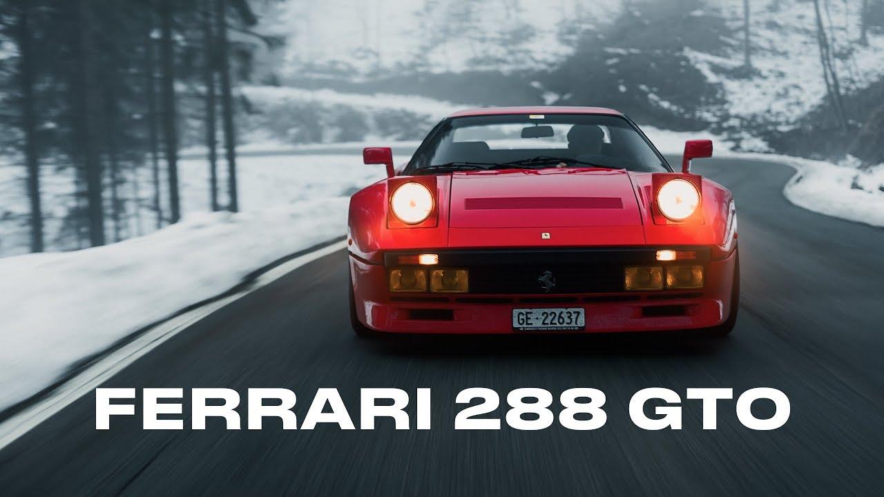 The Ferrari 288 Gto Driven By Alain De Cadenet Homologation Specials Youtube