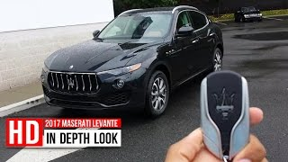 2017 Maserati Levante SUV In Depth Walkaround Startup Interior Exterior Trunk Engine