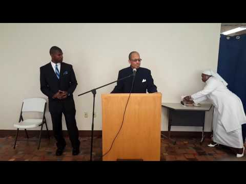 Student Minister Rasul Muhammad LIVE in Buffalo, New York