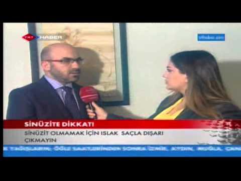 Op.Dr.Süreyya Şeneldir - Sinüzit ağrıları depresyona yol açar mı? ( Trt Haber)