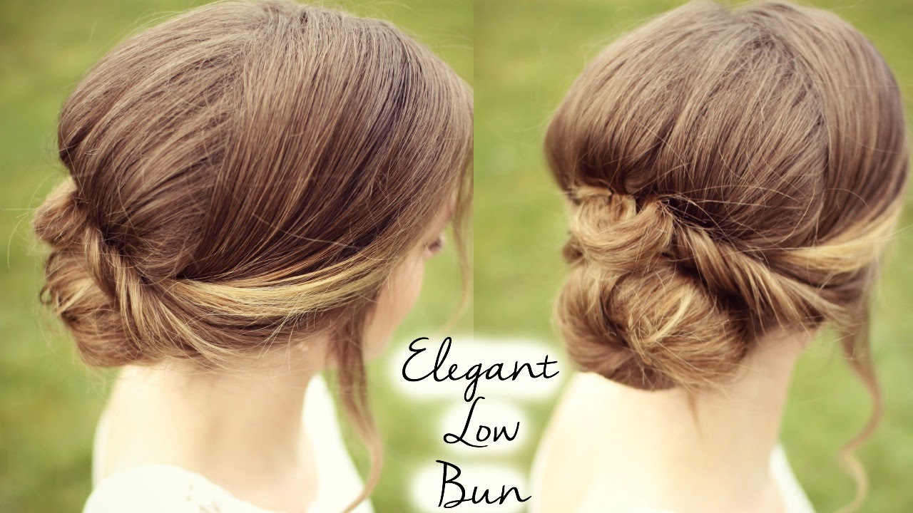 Formal Bun Updo Tutorial Braidsandstyles12