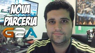 NOVA PARCERIA DO CANAL, LOJA DE GAMES G2A