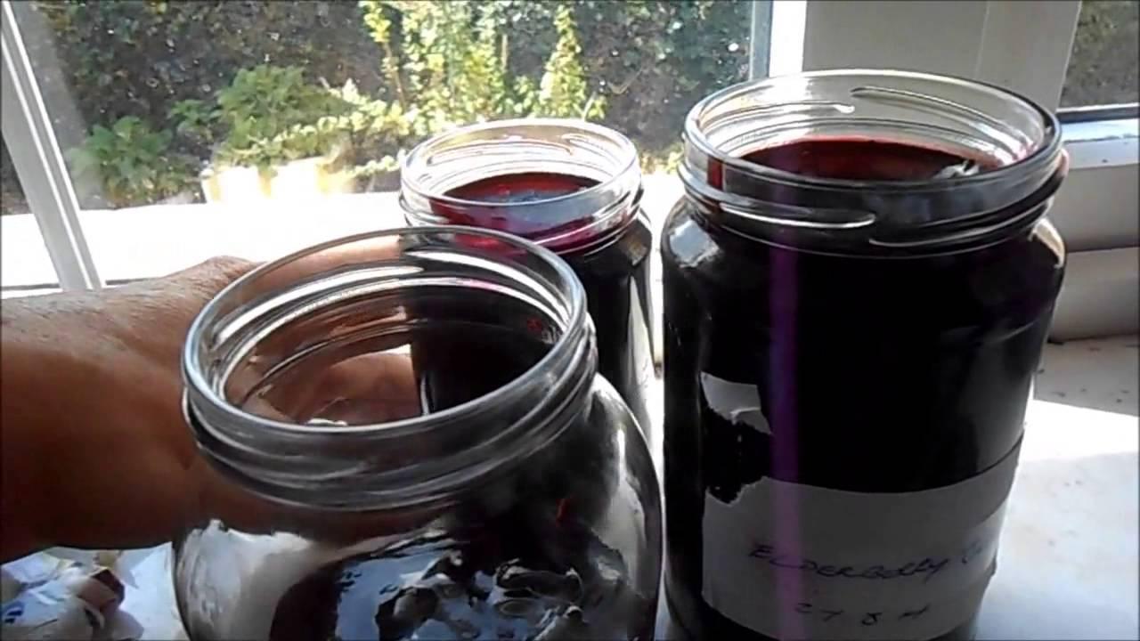 Elderberry Jelly Recipe - YouTube