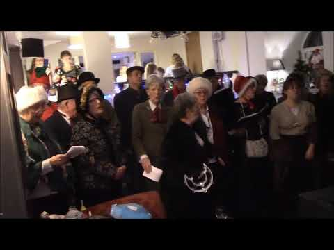 Christmas Carols at The Chepstow Castle Inn part 1