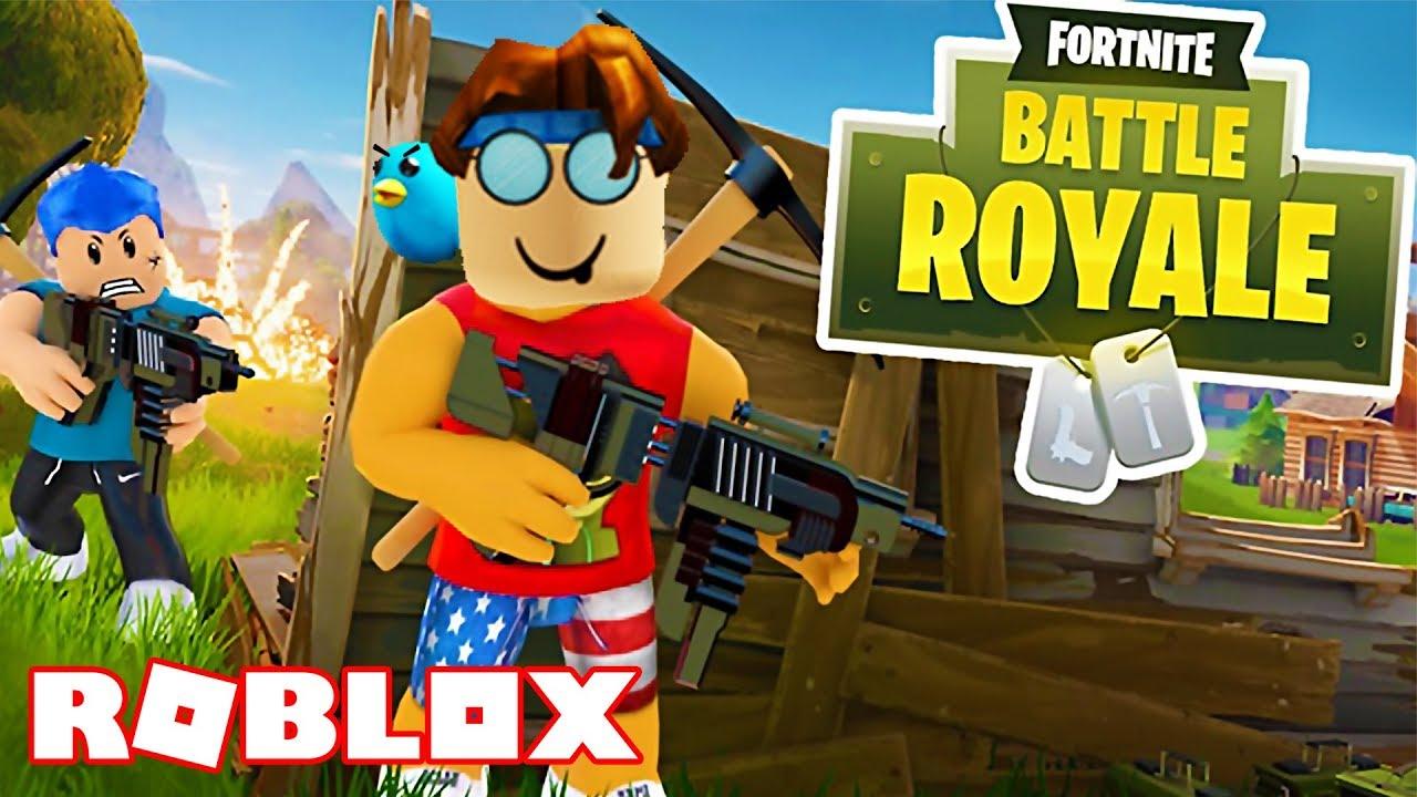 Fortnite In Roblox Roblox Island Royale Roblox Fortnite Battle