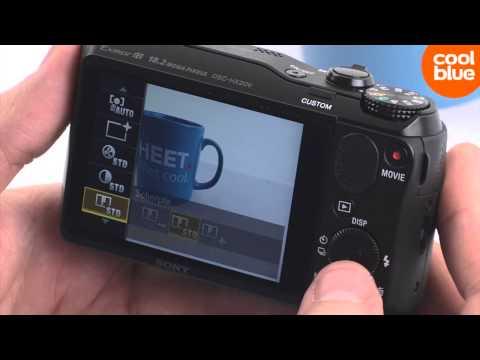 Sony Cybershot DSC-HX20V videoreview en unboxing (NL/BE)