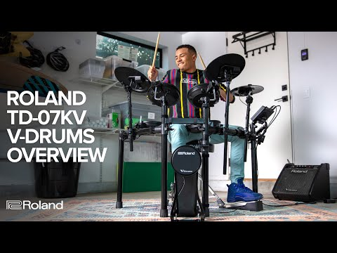 Roland V-Drums TD-07KV Kit Overview