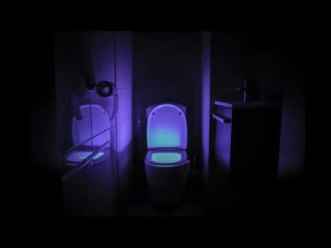 ToiLight LED Motion and Light Sentitive Toilet Night Light