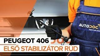 PEUGEOT 406 Break (8E/F) Gumiharang Készlet Kormányzás beszerelése: ingyenes videó