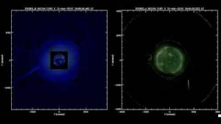 STEREO, SOHO Caught Sun-Diving Comet in 3D (2010.03.12)