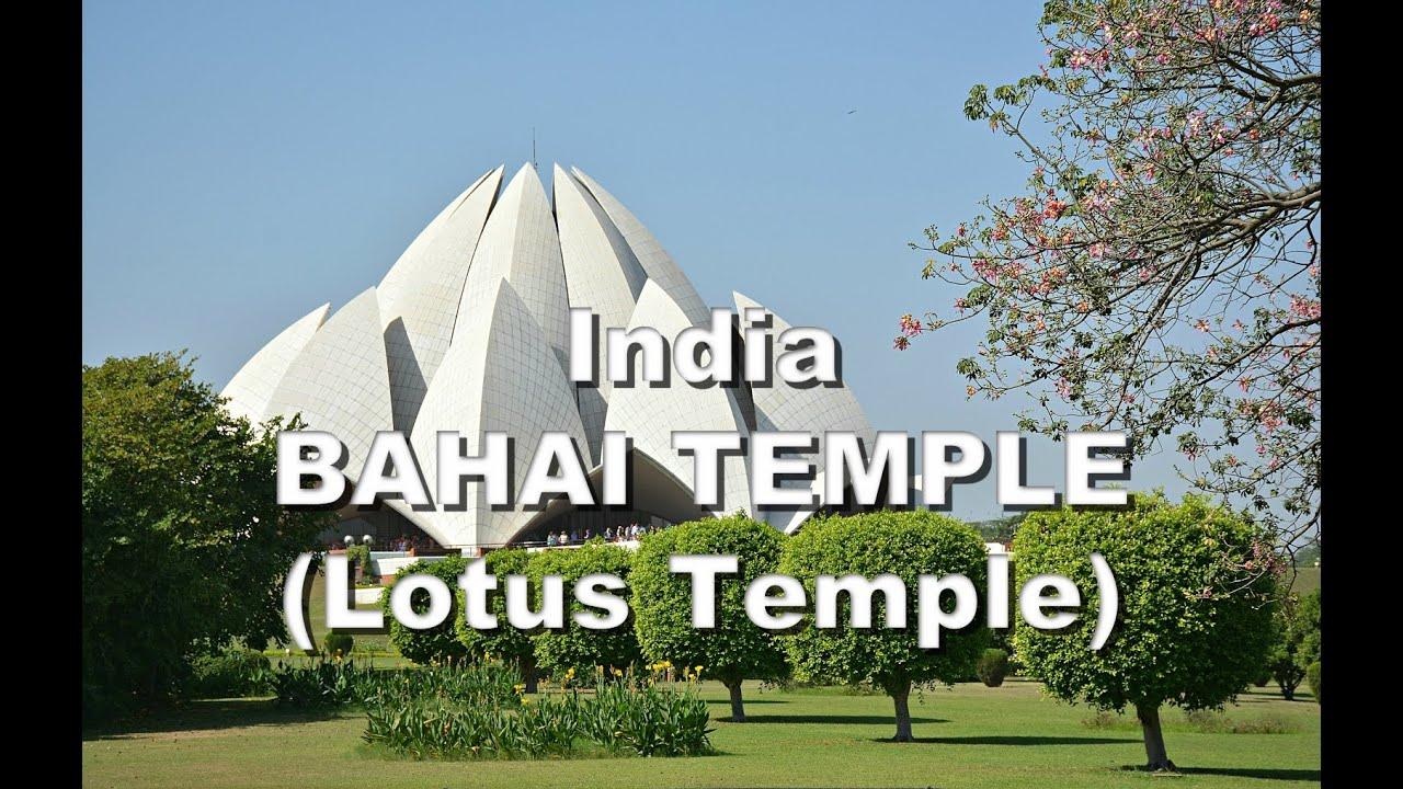 india bahai temple lotus