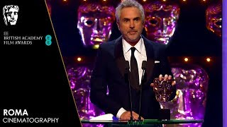 Roma Wins Cinematography | EE BAFTA Film Awards 2019