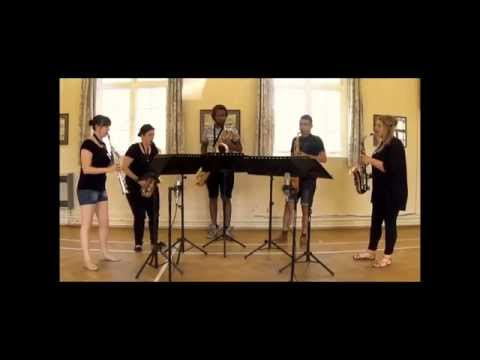 Man Mou for saxophone quintet (by Nigel Wood)