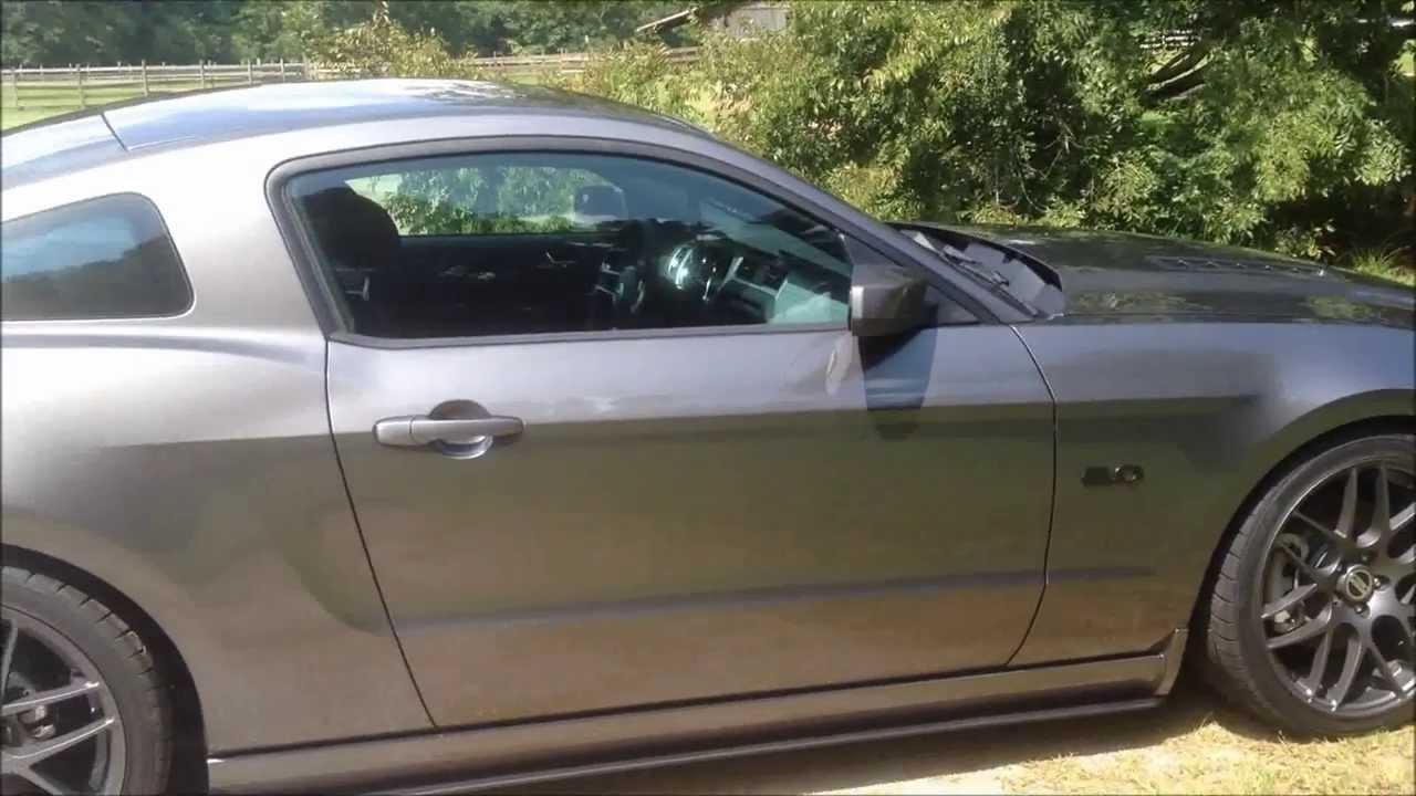 Inside Outside Look 2014 5 0 Mustang Sterling Grey Premium