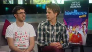 Quickflix - Simon Bird and Joe Thomas from The Inbetweeners Movie