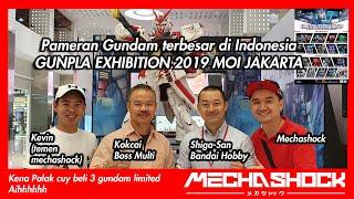 GUNPLA EXHIBITION 2019 JAKARTA MOI! Pameran Gundam Terkeren di Indonesia ! Ketemu Shiga-San !