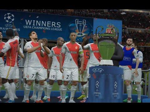 AS Monaco vs Real Madrid Finale UEFA Champions League 2016/2017 Fifa 16