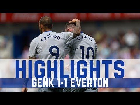 KRC Genk 1-1 Everton - ROONEY scores again!