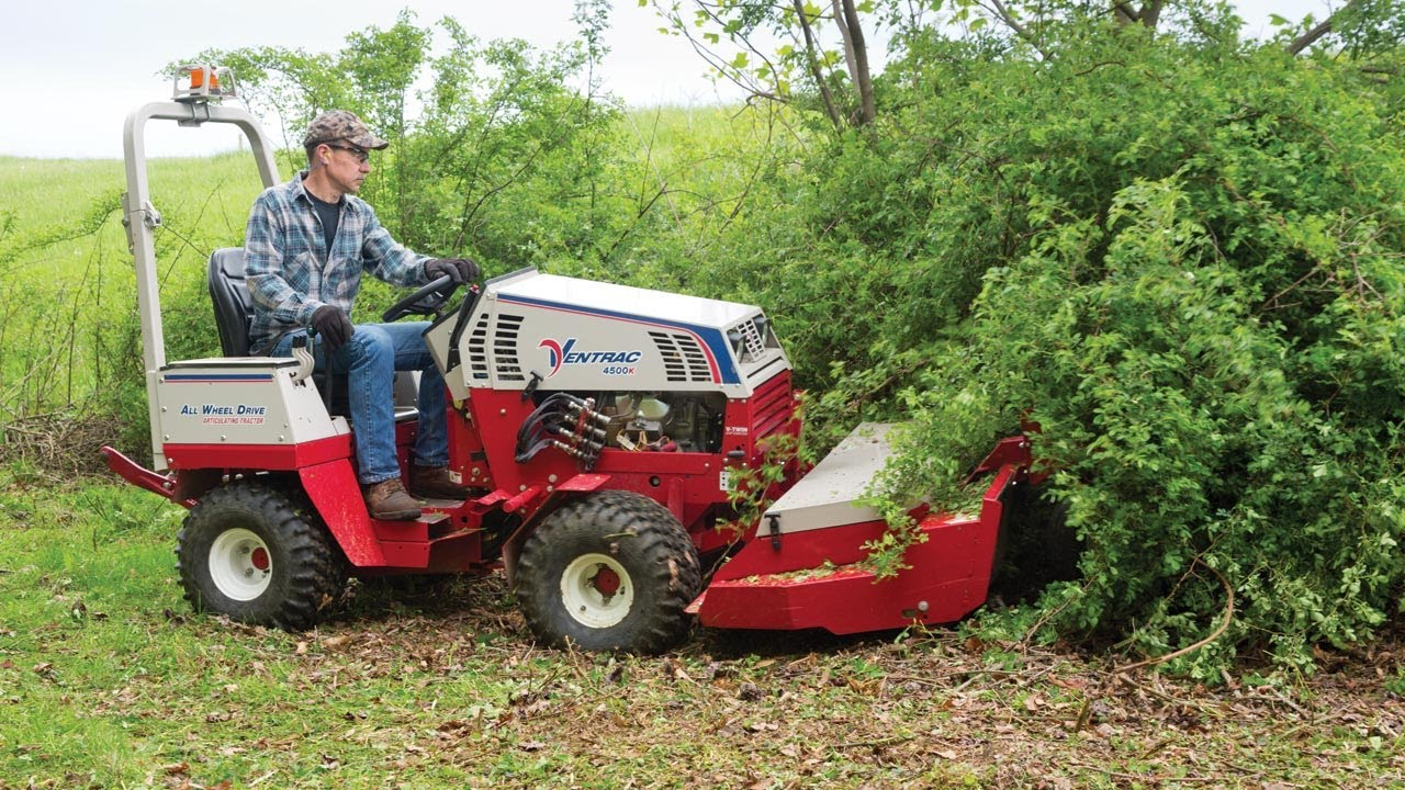 Ventrac Brush Mowing