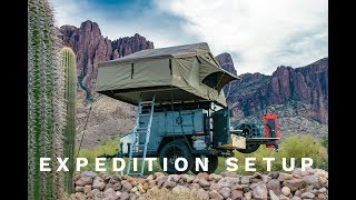 Turtleback Trailers Expedition Setup